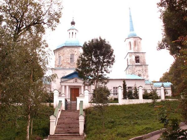 Храм Тихвинской Божией Матери Брянск