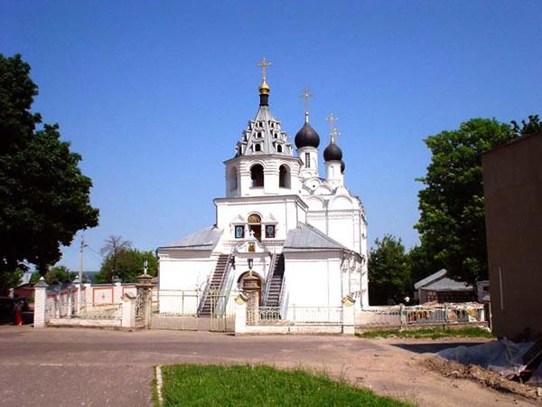 ПетроПавловский монастырь. Церковь Введения (Брянск)