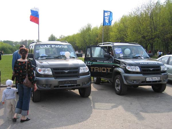 Новые УАЗы от Брянск-УАЗ