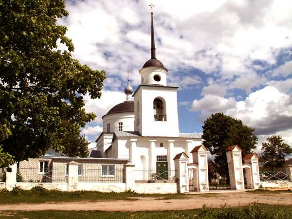 Храм Спаса Нерукотворного (Георгия) — Супонево