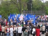 Единая Россия на параде 9-мая