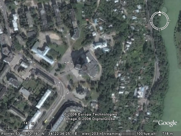Google Earth Брянск: Гостиница «Брянск»