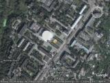 Google Earth Брянск: городской цирк
