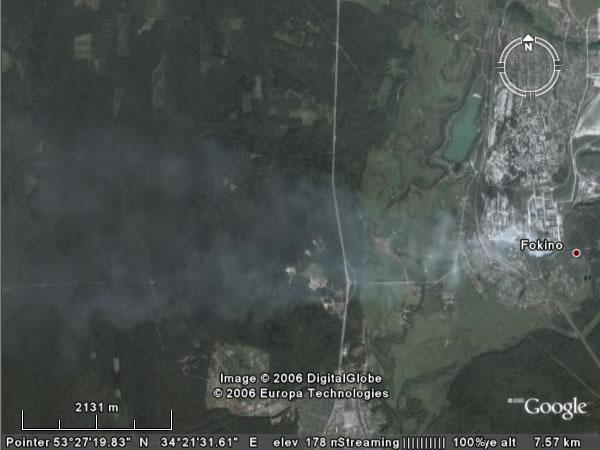 Google Earth Брянск «Мальцовский Портландцемент»