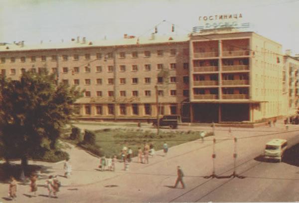 Гостиница «Десна», 1965