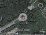 Google Earth Брянск: Курган Бессмертия, парк 1000-летия Брянска