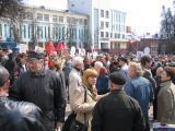 После митинга: народ расходится