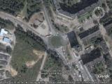 Google Earth Брянск: Памятник Лётчикам (Самолёт)