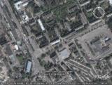 Google Earth Брянск: пересечение Станке Димитрова и Красноармейской